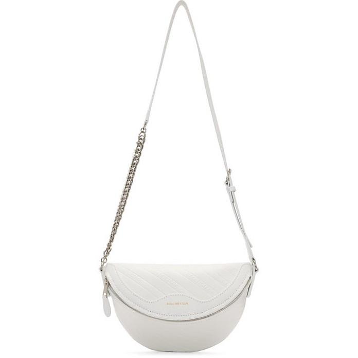 White XXS Souvenirs Belt Bag - Balenciaga