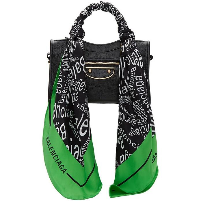 Black Mini City Scarf Bag - Balenciaga