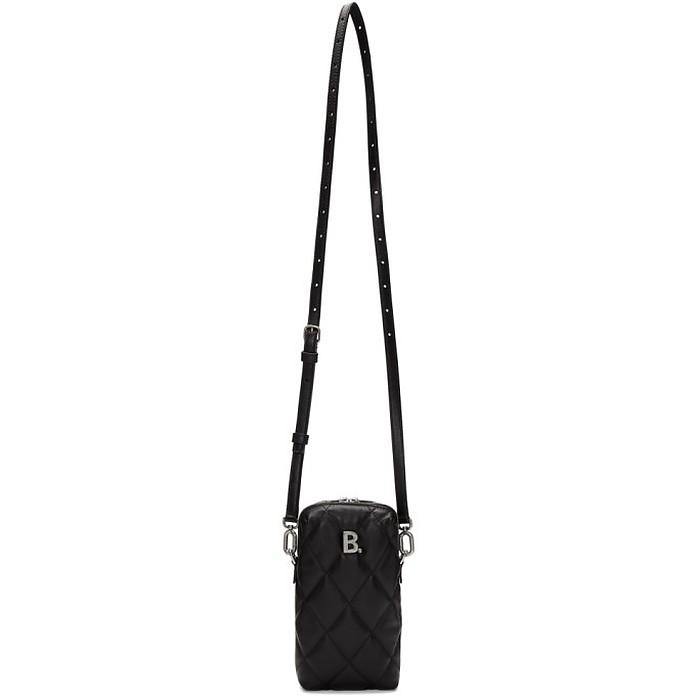 Black B. Touch Rectangle Bag - Balenciaga