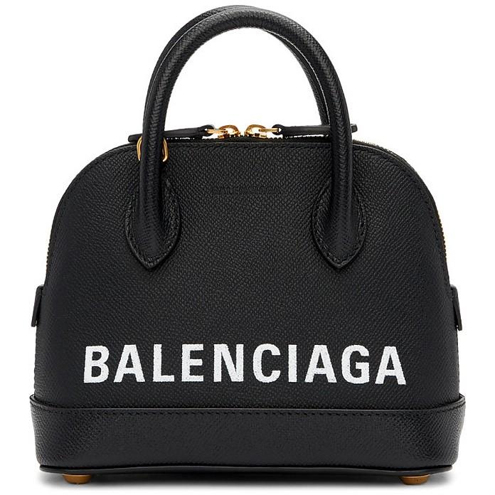 Black XXS Ville Top Handle Bag - Balenciaga