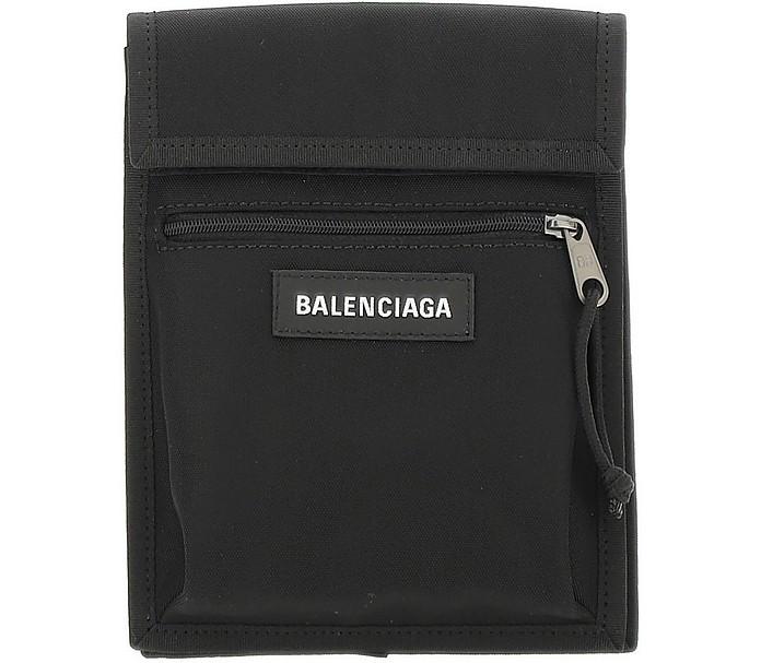 Black Nylon Explorer Pouch - Balenciaga