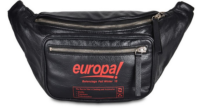 Black Explorer Beltpack - Balenciaga