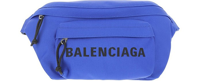 Blue Signature Belt BAg - Balenciaga