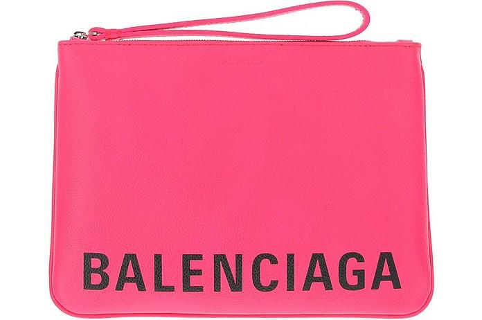 Fuchsia Wallet/Clutch - Balenciaga