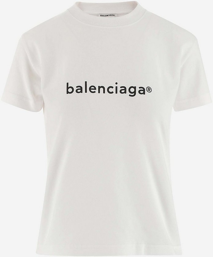Women's Polo Shirt W/Short Sleeve - Balenciaga