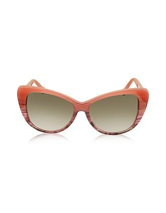8c857826d9 BA0016 44F Gafas de Sol Acetato Borgoña para Mujere - Balenciaga