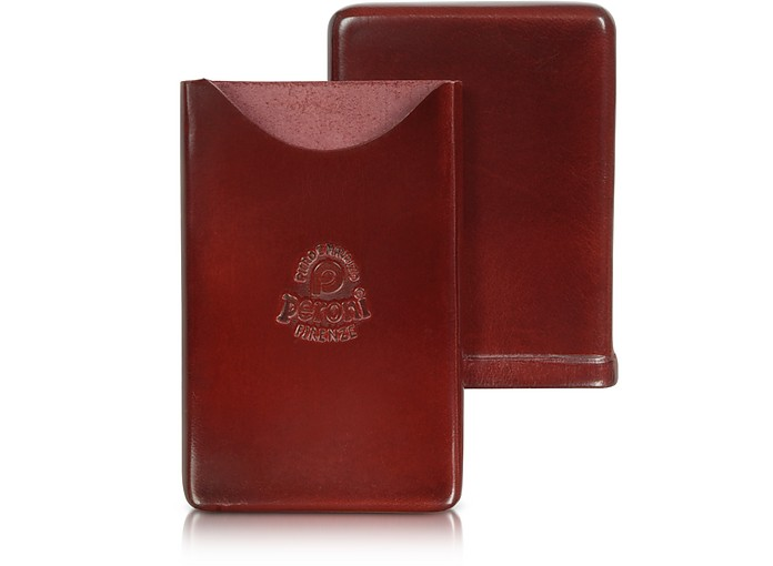Genuine Leather Card Case - Peroni