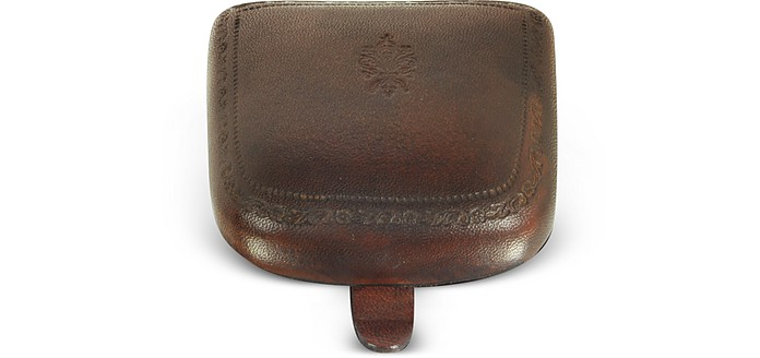 Brown Leather Coin Purse - Peroni