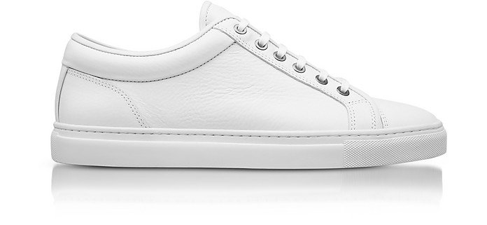 ETQ Amsterdam Low 1 White Nappa Leather Men s Sneaker 40 (7 US  8e23c46796