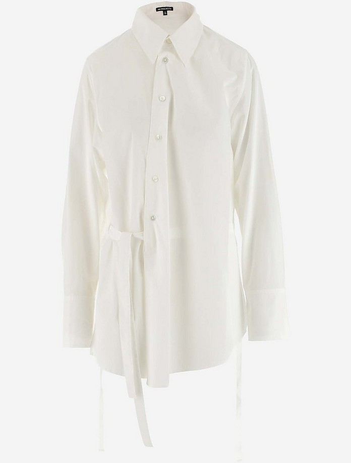 OS-Costumes stehkragenhemd 420001-3684-1 Blanc Vert