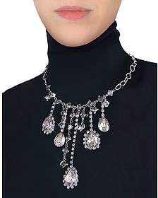 Crystal Drop Necklace  - Evatini