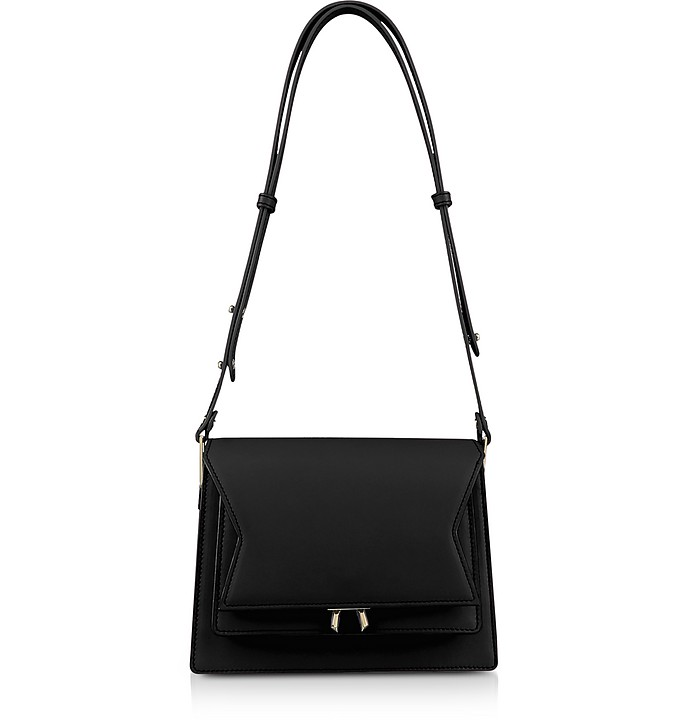 Genuine Leather XOXO Shoulder Bag - Lara Bellini