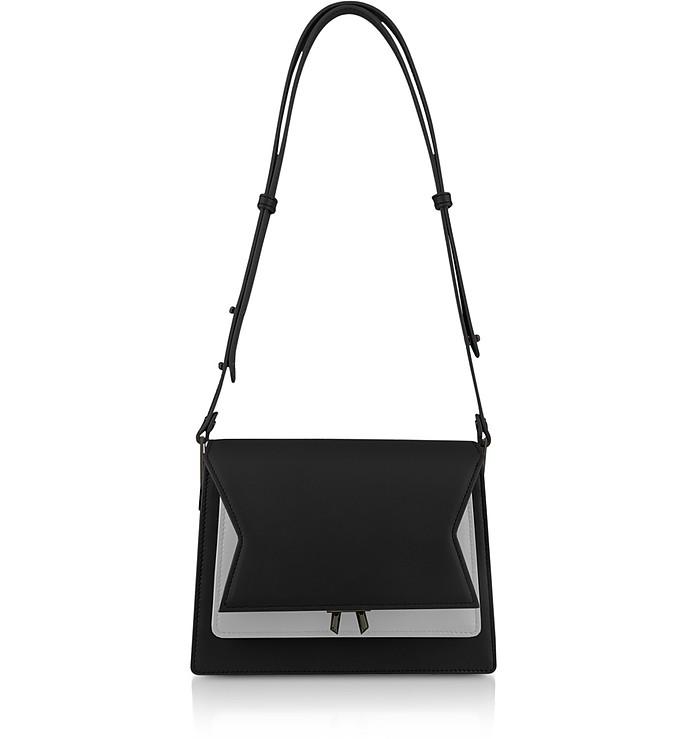 Two-Tone XOXO Shoulder Bag - Lara Bellini