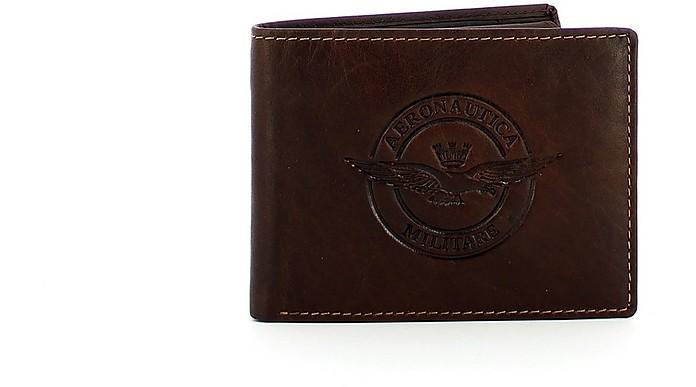Brown Wallet - Aeronautica Militare