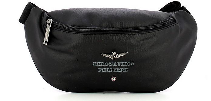 Black Men's Belt Bag - Aeronautica Militare