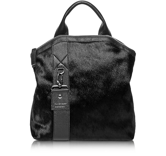 Paradise Medium Haircalf and Leather Backpack - Francesco Biasia
