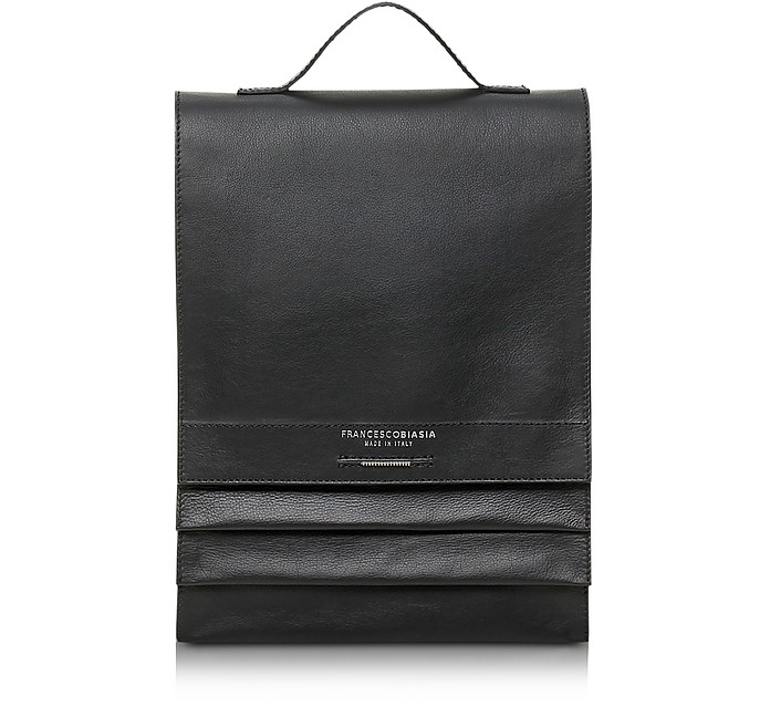 Miss Sarajevo Leather Backpack - Francesco Biasia
