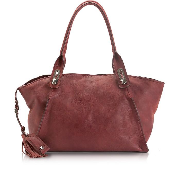 Naomi - Large Leather Tote - Francesco Biasia
