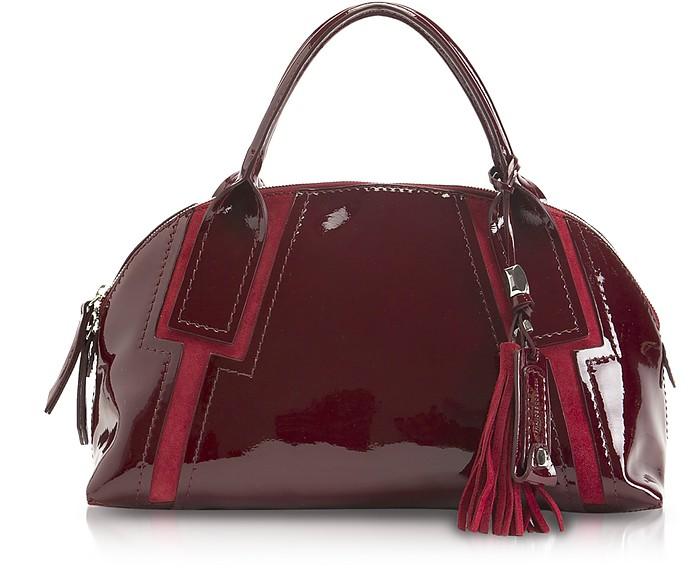 Valeria - Medium Leather Bowler - Francesco Biasia