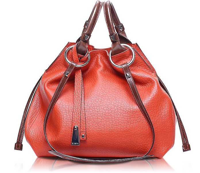 Angie Leather Bucket Bag - Francesco Biasia