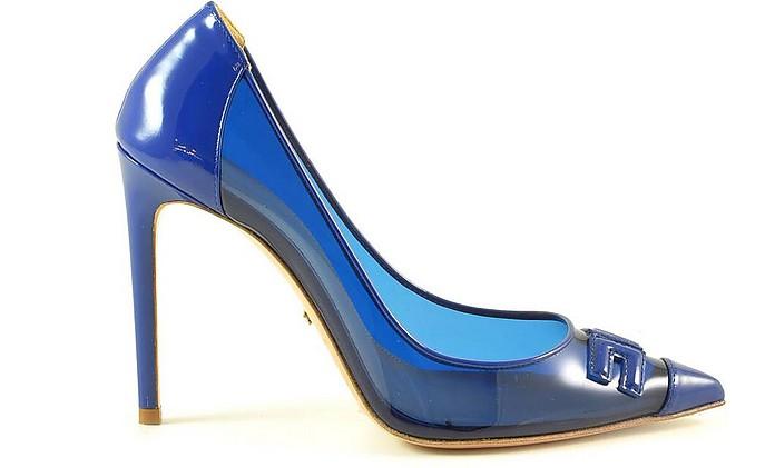 Blue Transparent Pumps - Elisabetta Franchi