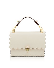 Kan I M Camelia Leather Top Handle Shoulder Bag - Fendi