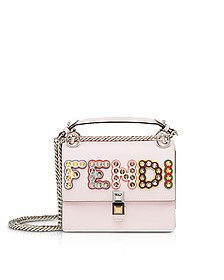 Kan I MCL Leather Shoulder Bag - Fendi