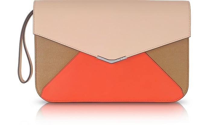 2Jour Color Block Clutch - Fendi