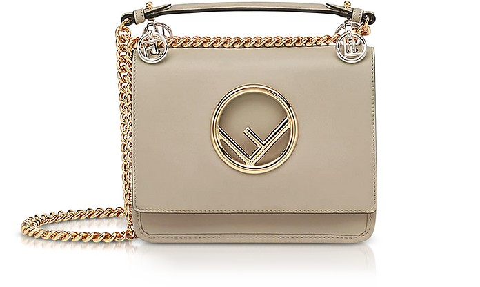 Kan I Small Century Calf Leather Shoulder Bag - Fendi