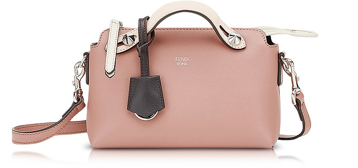 885a63968827 Fendi Rose and Ebano By The Way Mini Satchel Bag at FORZIERI