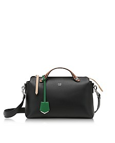 Black and Emerald Geen Leather By The Way Regular Satchel bag - Fendi