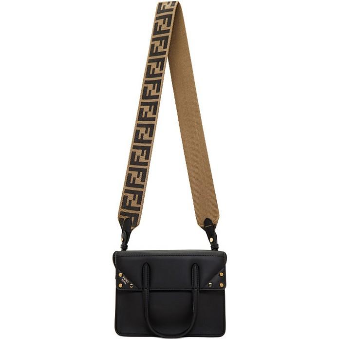 Black Small Forever Fendi Flip Bag - Fendi