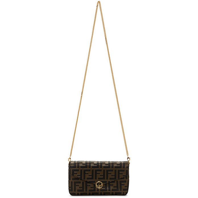 Brown Forever Fendi Envelope Bag - Fendi