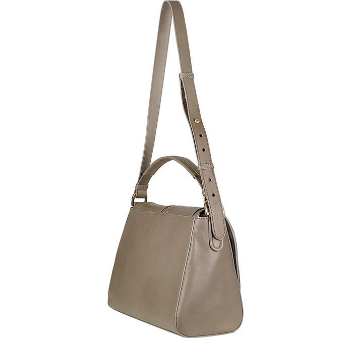 90a3208ff495 Fendi Anna Leather Flap Shoulder Bag at FORZIERI