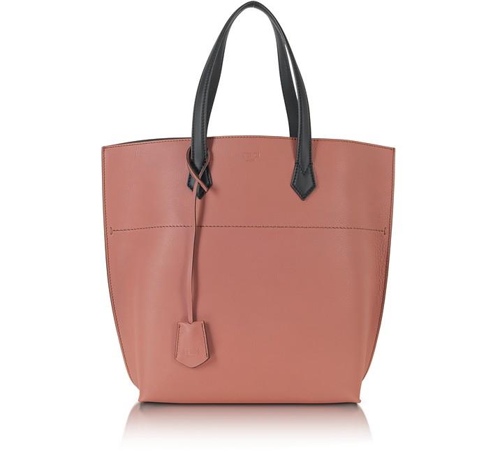 All In Leather Shopper Tote - Fendi