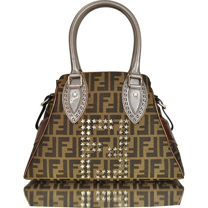 56d481a31e39 Fendi Bag de Jour Small Zucca Handbag at FORZIERI