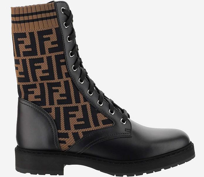 Arancione Ankle Boots - Fendi