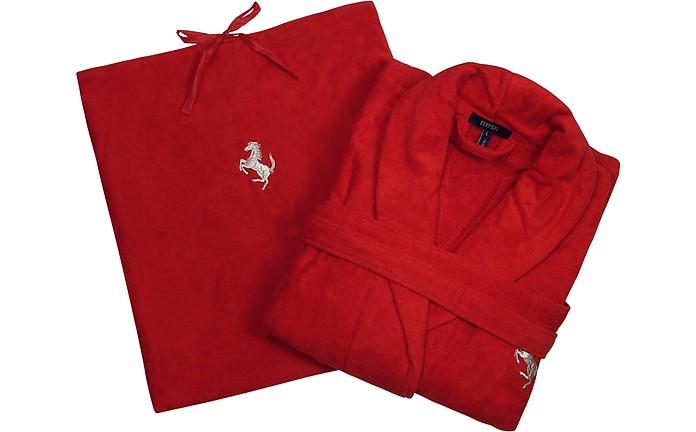 36ff9f9e9b Red Prancing Horse Bathrobe - Ferrari. £111.50 Actual transaction amount