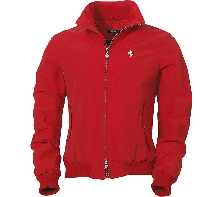 Ferrari Men's Red Prancing Horse er Jacket S at FORZIERI