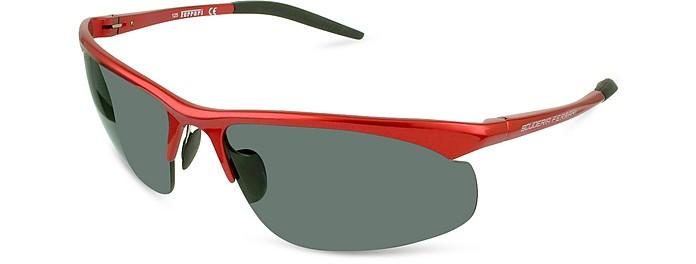 68380358ba Ferrari red smoke FR71 - Scuderia Ferrari Sunglasses at FORZIERI
