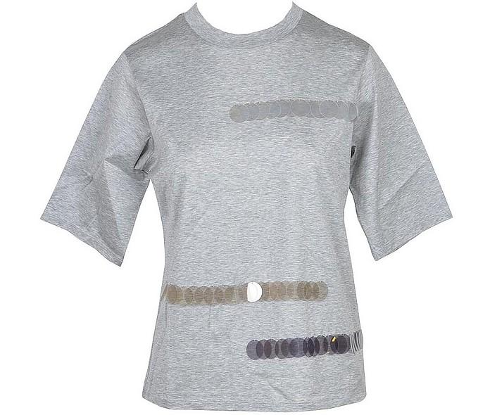 Women's Gray Tshirt - Fabiana Filippi