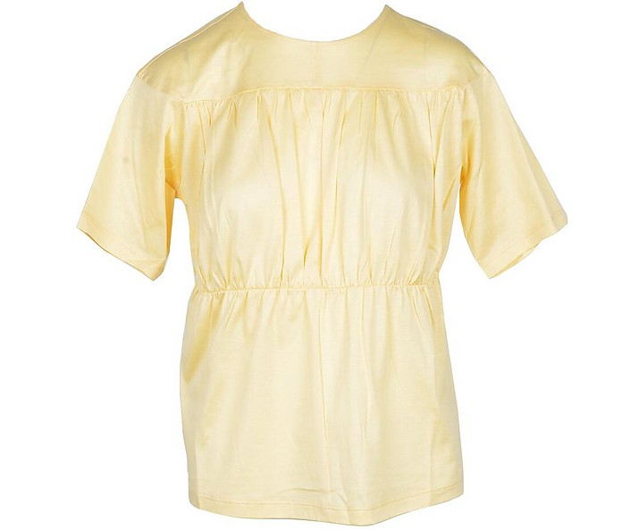 Women's Yellow Tshirt - Fabiana Filippi