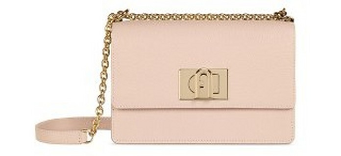 Candy Rose 1927 Mini Leather Crossbody Bag - Furla