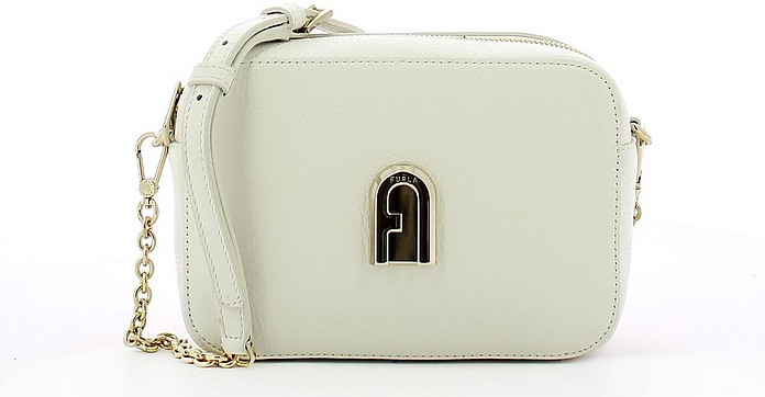 Chalk Leather Slik Mini Camera Bag - Furla