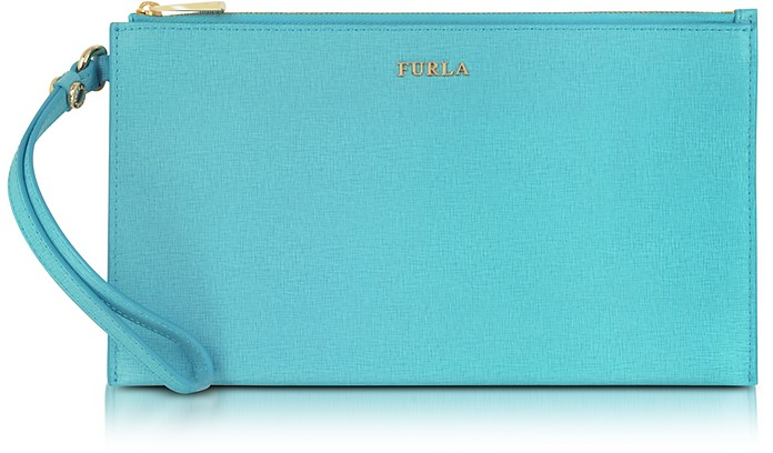 Babylon Leather Envelope - Furla