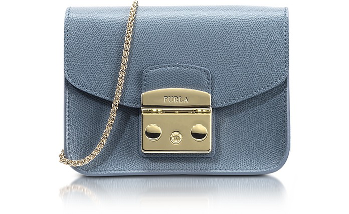 Dolomia Leather Metropolis Mini Crossbody Bag - Furla