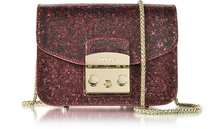 Glitter Metropolis Mini Crossbody Bag - Furla