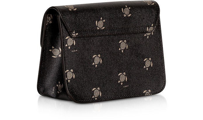 0ad2908e699e Toni Onyx Mini Turtle Printed Saffiano Leather Metropolis Mini Crossbody  Bag - Furla. Sold Out