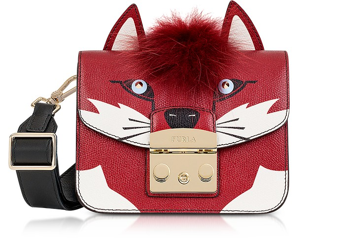 d49dd0c7dd Furla Metropolis Jungle Fox Mini Crossbody Bag at FORZIERI