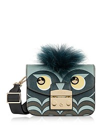 Metropolis Jungle Owl Mini Crossbody Bag - Furla